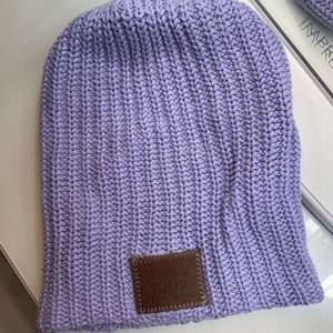 Lavender Love Your Melon beanie